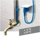 AQUACABLE Frostschutzheizkabel für Metall- oder Kunststoffrohre