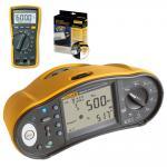 Multifunktions-Installationstester Fluke 1664 FC + Fluke 115 DMM und DMS Software GRATIS