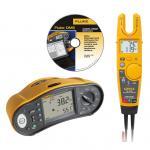 Testeur d'installation multifonctions Fluke 1663 avec testeur électrique T6 et logiciel gratuits