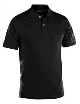 3305 Polo-Shirt schwarz S