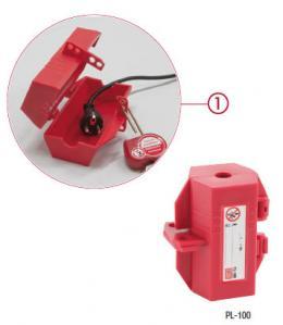 Sperrelement für Stecker oder pneumatik