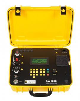 C.A 6292 Digitales Micro-Ohmmeter bis 200A im baustellentauglichen