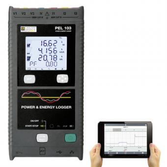 Pack PEL103 Power-energy logger avec tablette Androïd 8 16Go OFFERTE""