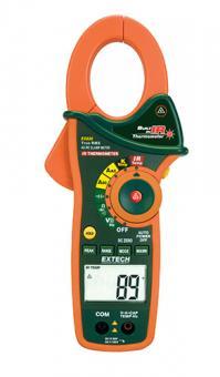 Extech EX830 Stromzange, Hand-Multimeter digital IR-Thermometer CAT III 600V