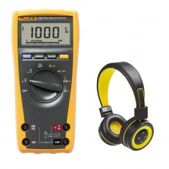 Digitalmultimeter Fluke 175 mit Bluetooth-Kopfhörer GRATIS