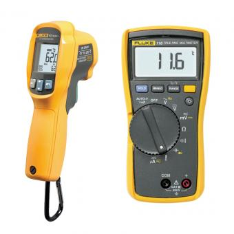 Fluke 116/62 MAX+ Combo Kit für HLK-Technik