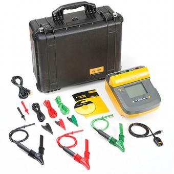 Isolationsmesser, FLUKE-1555/KIT, 10kV, mit Koffer und Krokodilklemmen