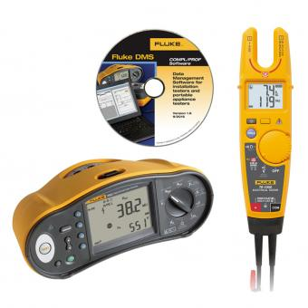 Multifunktions-Installationstester Fluke 1663 mit Elektrotester T6 und Software GRATIS
