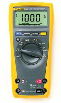 Echteffektiv-DMM, FLUKE-179 EGFID, mit Kapzitäts- und Frequenzmesser, Hintergrundbeleuhtung