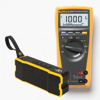 Echteffektiv-DMM, FLUKE-179 EGFID, mit Bluetooth Lautsprecher