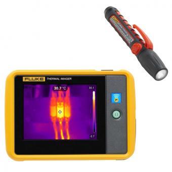 Wärmebildkamera im Taschenformat Fluke PTi120 + Flashlight FL45 GRATIS