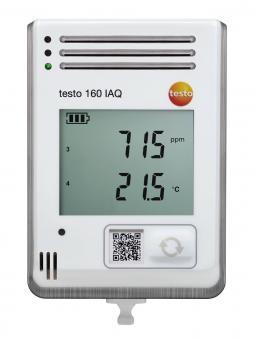 testo 160 IAQ Funk-Datenlogger für Temperatur, Feuchte CO2 und atmosphärischen Druck