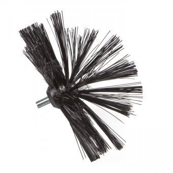 Brosse en nylon Ø 25cm, avec filetage M 10