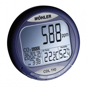 Wöhler CDL 110 CO2-Datenmonitor
