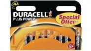 Gerätebatterie 1.5V LR6/AA Packung à 12 Stück, PLUS POWER AA