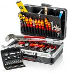 Werkzeugkoffer Sanitär 52-teilig