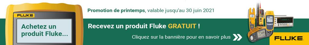Banner Promotion Fluke Printemps 2021